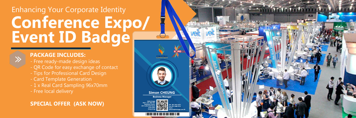Expo / Event ID Badge