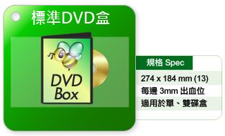 標準DVD盒